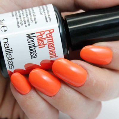 esmalte permanente naranja