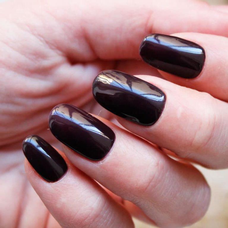 esmalte permanente borgoña oscuro