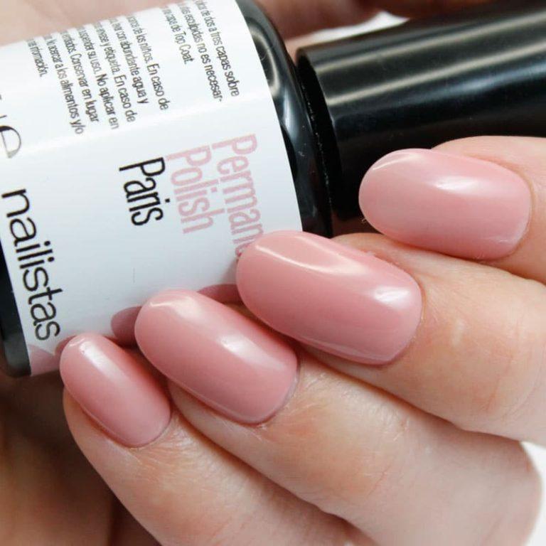 comprar esmalte permanente rosa nude para manicura francesa