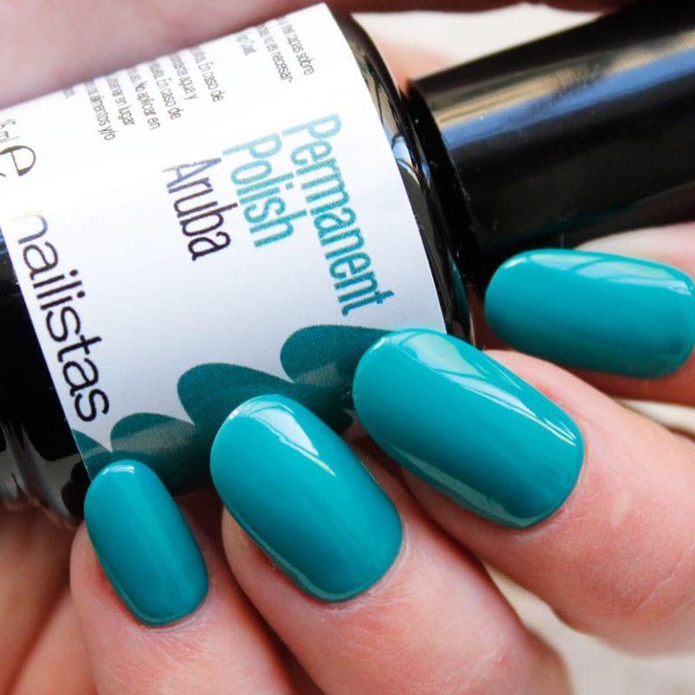 comprar esmalte permanente azul turquesa