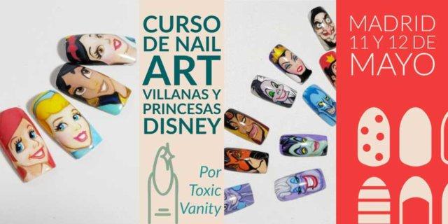 Curso de uñas princesas disney Madrid
