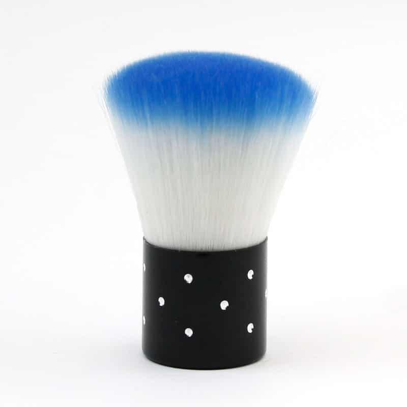 brocha limpia polvo para uñas