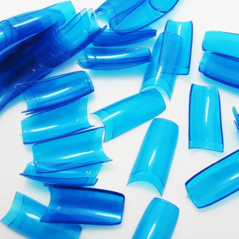 tips para uñas transparentes de color